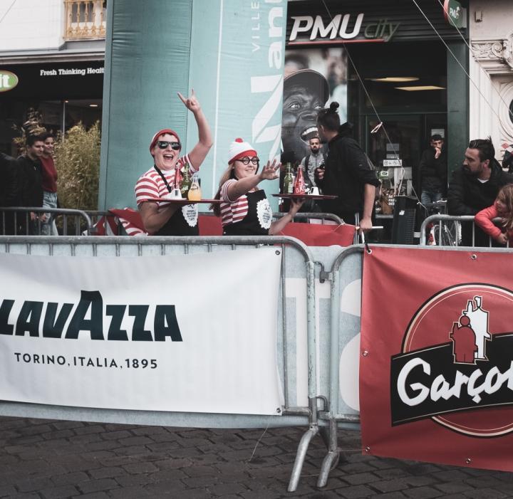 Course de Serveurs et Garçons de Café, Nantes2019